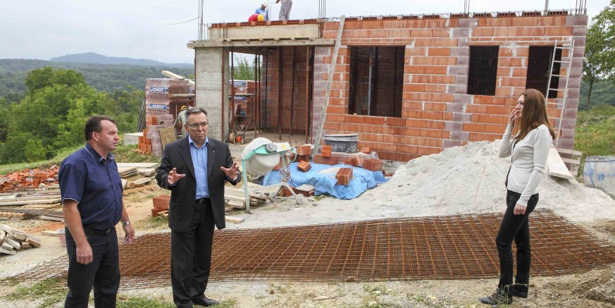 Gradonačelnik M. Batinić sa suradnicima obišao gradilišta milijunske vrijednosti na području Ivanca