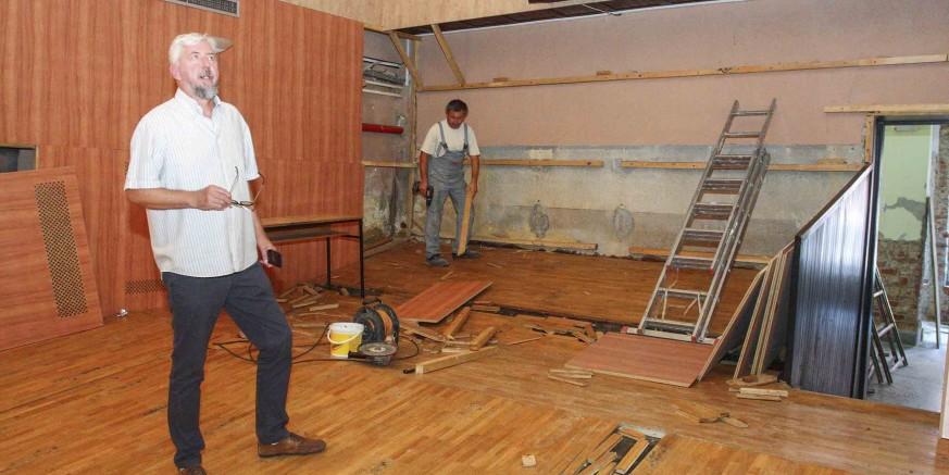 Počela je rekonstrukcija kinodvorane u Ivancu – prve projekcije u 3D tehnici krajem ove godine