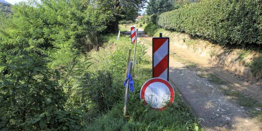 Hrvatske ceste u posao i službeno uvele izvođača radova na sanaciji klizišta Biškupovec u Margečanu