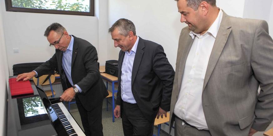 Otvoreni novi prostori Područne glazbene škole Ivanec – investicija je vrijedna 200.000 kuna