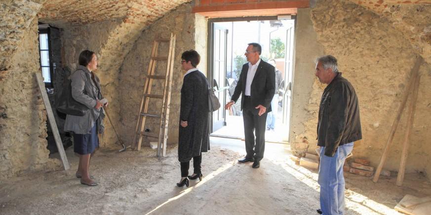 Izvode se radovi na dovršetku prve faze Muzeja planinarstva u Ivancu vrijedni 1,29 milijuna kuna