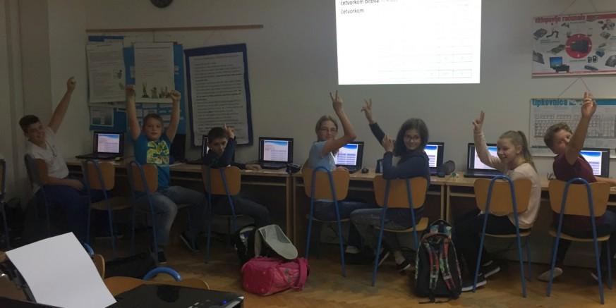 Ivanečkoj Srednjoj i Osnovnoj školi brz pristup Internetu iz projekta Microsoft Hrvatska vrijednog milijun dolara