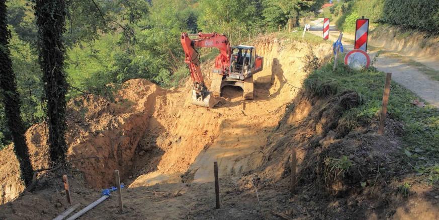 Počela je sanacija klizišta u Margečanu – vrijednost projekta preko 420.000 kuna