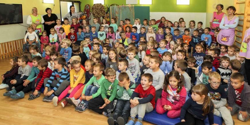 Dječji vrtić Ivančice nizom aktivnosti obilježava Dječji tjedan (3. - 7. listopada)