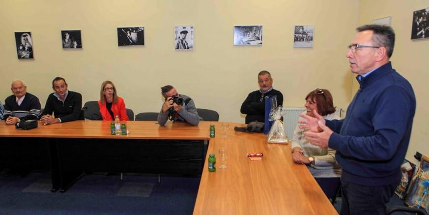 Gradska uprava i predstavnici Grada Kraljevice na čelu s gradonačelnicom N. Turina - Đurić u posjetu Gradu Ivancu