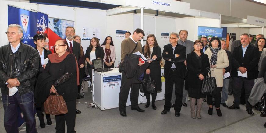 Uspješna promidžba Grada Ivanca s 13 partnera i poduzetnika na 3. gospodarskom sajmu u Varaždinu