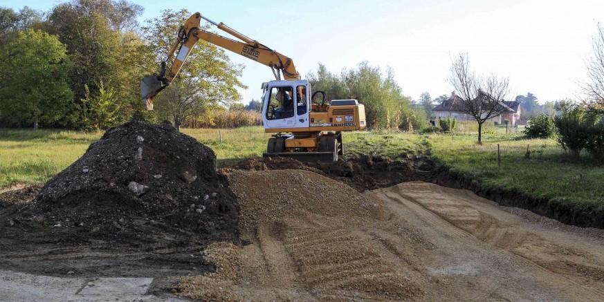 Počela je gradnja produžetka Gajeve ulice u ivanečkoj Zoni C3