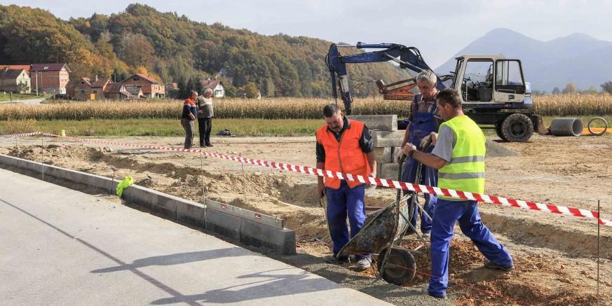 U tijeku su radovi na uređenju parkirališta u Margečanu vrijedni 126.000 kuna