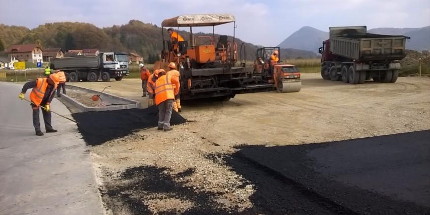 Završeni su radovi na uređenju parkirališta u Margečanu