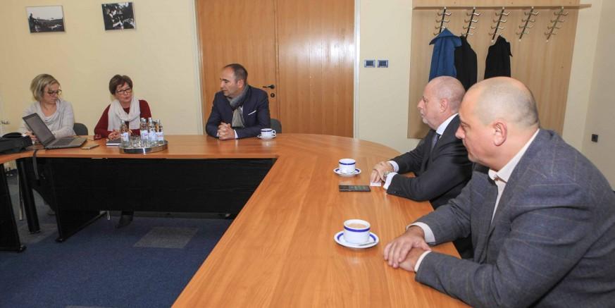 Održani radni sastanci predstavnika Grada Ivanca i poduzetnika s tvrtkom TRIPLE A