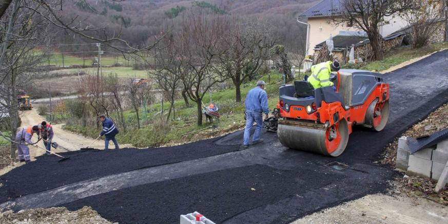 U tijeku je modernizacija nerazvrstanih cesta na širem gradskom području