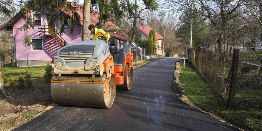 Završena je modernizacija nerazvrstanih cesta iz gradskog programa 2016. vrijedna 264.400 kuna