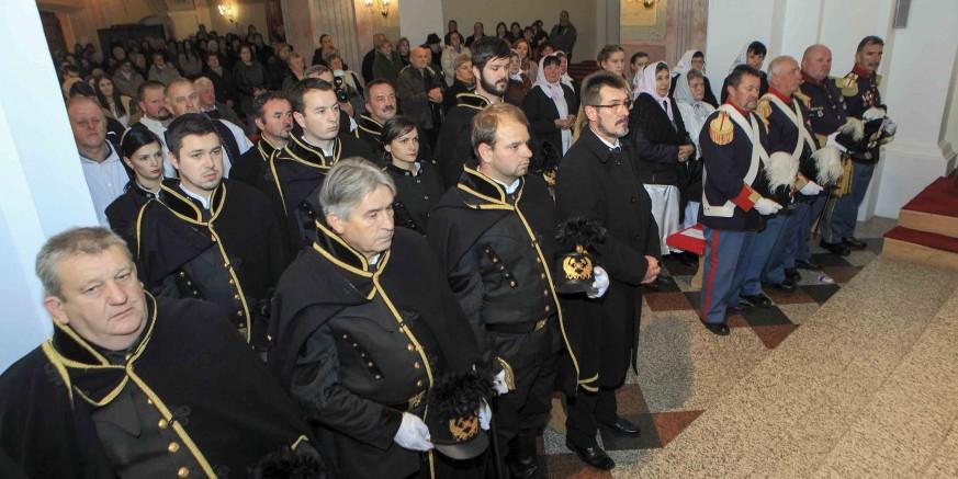 Ivanečki rudarski dani: Na misu u čast sv. Barbare pod svjetlom baklji