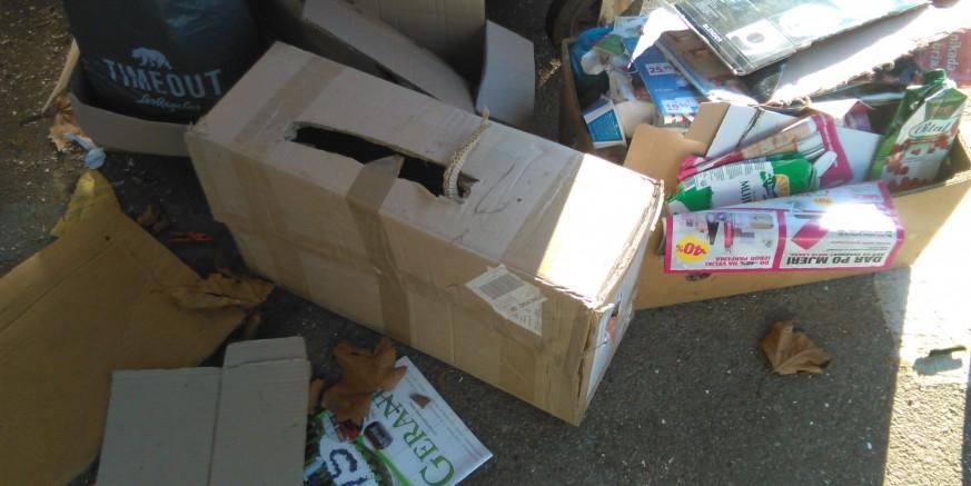 Građani, Odsjeku za komunalno gospodarstvo prijavite osobe koje stvaraju nered kod kontejnera