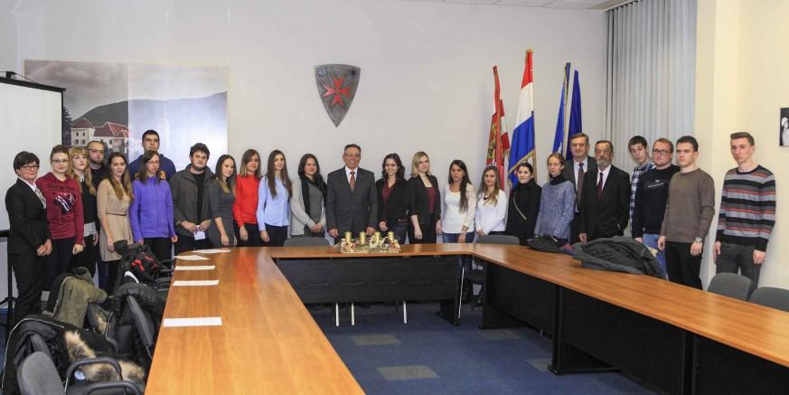 Dodijeljene su stipendije Grada Ivanca za ak. godinu 2016./2017.