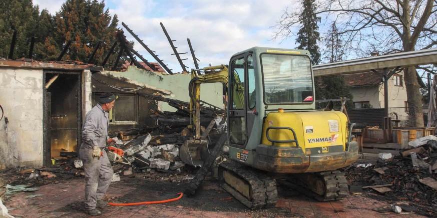 Počeli su radovi na obnovi objekta POU Ivanec, koji je izgorio u podmetnutom požaru