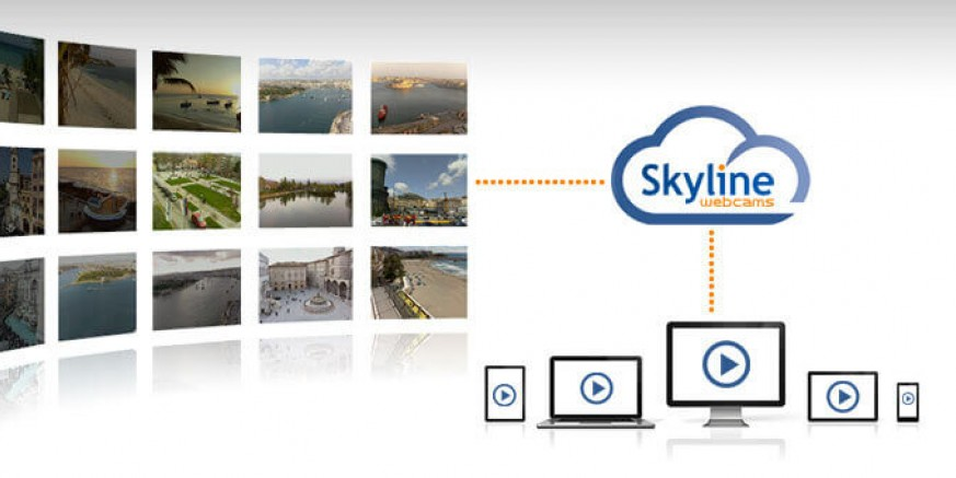 Ivanec na svjetskoj panoramskoj televiziji Skyline Web Cams TV!