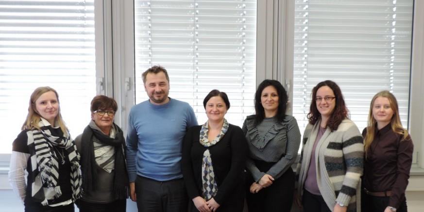 Predstavnici Grada Ivanca, Poslovne zone i Projektnog ureda u slovenskom Grosuplju