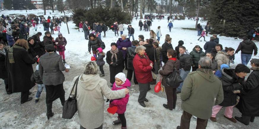"""Manifestacija  """"Ptičeki se ženiju"""" u gradskom parku 12. veljače u 16 sati"""