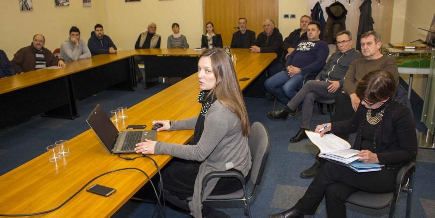 U Gradskoj vijećnici predstavljeno idejno rješenje Rekreacijskog centra Lančić - Knapić