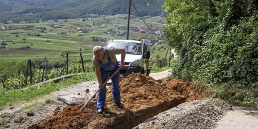 Stigla voda do grobne kuće u Prigorcu