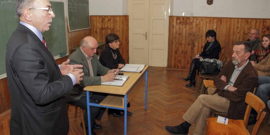 Radni sastanak gradskih čelnika s Vijećem MO-a Salinovec i predstavnicima svih udruga