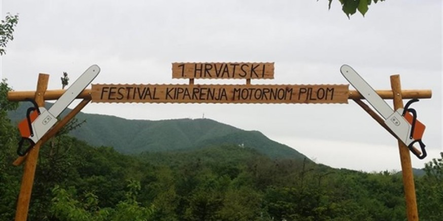 1. hrvatski festival kiparenja motornom pilom 6. i 7. lipnja u Salinovcu