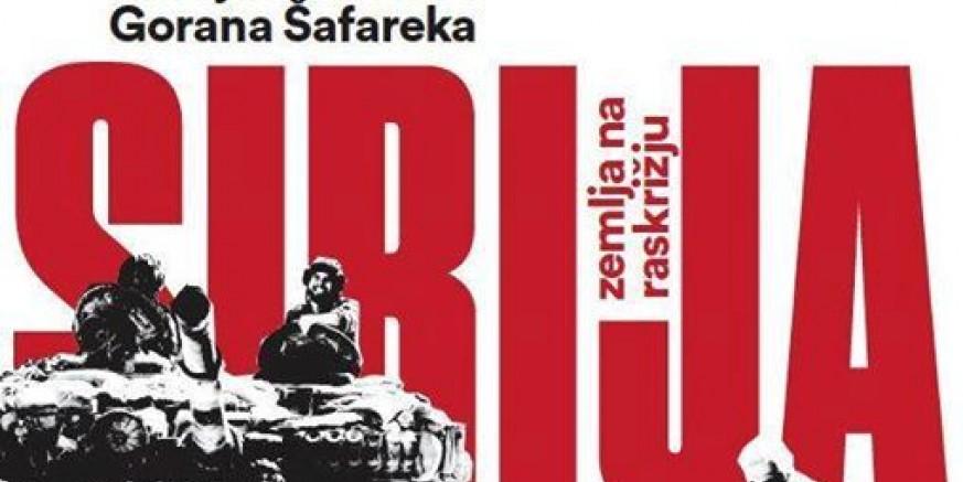 Srijeda, 5. travnja: Besplatna projekcija filma Sirija – zemlja na raskrižju i promocija knjige
