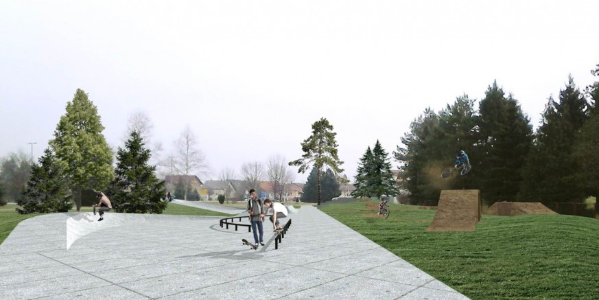 U srijedu, 26. 04., prezentacija projekata skate parka i biciklističkog poligona, dječjeg parka u Kumičićevoj i trga kod Kina