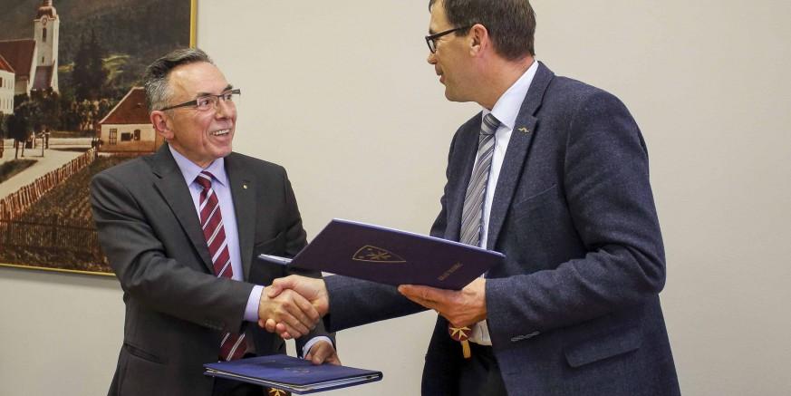 Čelnici Ivančne Gorice i Ivanca potpisali Izjavu o partnerskoj suradnji na projektu u sklopu INTERREGA Slovenija – Hrvatska