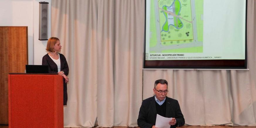 Gradska uprava na javnoj prezentaciji predstavila projekte urbanog uređenja Ivanca