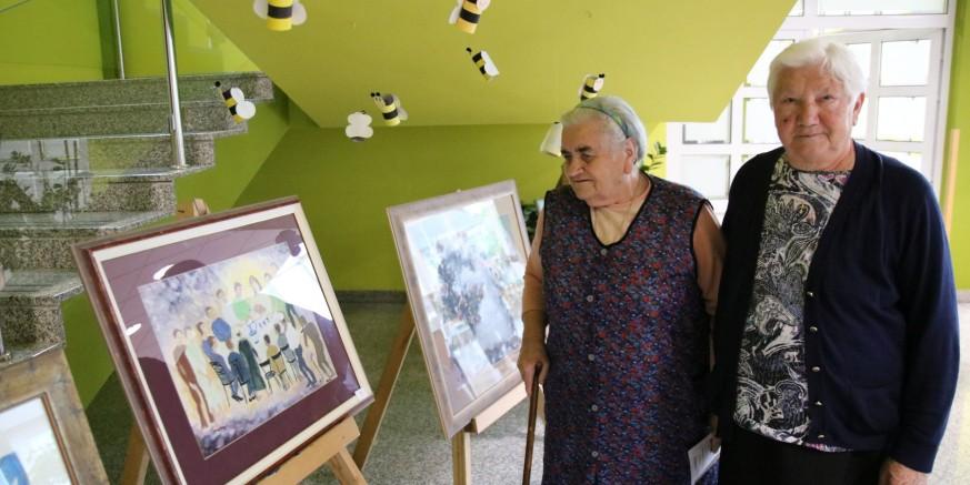 95 godina HKD Napredak: Humanitarna prodajna izložba u Caritasovom domu u Ivancu