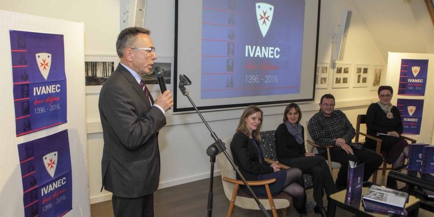 """Predstavljena reprezentativna monografija """"Ivanec kroz stoljeća 1396. – 2016."""""""