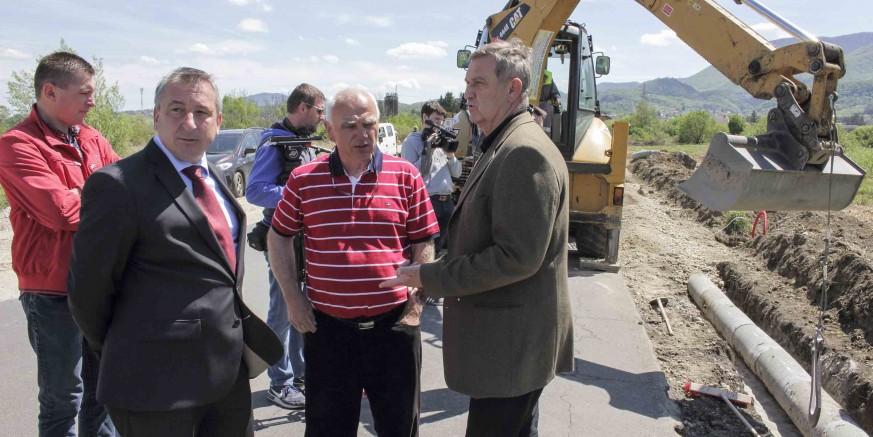 Gradi se nogostup i javna rasvjeta od Ivanca do Jerovca, slijedi otvaranje tri nova gradilišta
