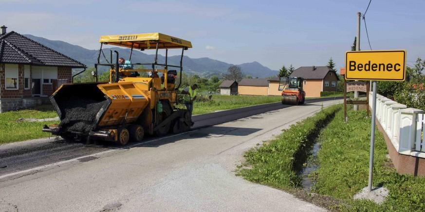Asfaltira se cesta Bedenec – Jerovec, stiže asfalt u Horvatsko i Radovan