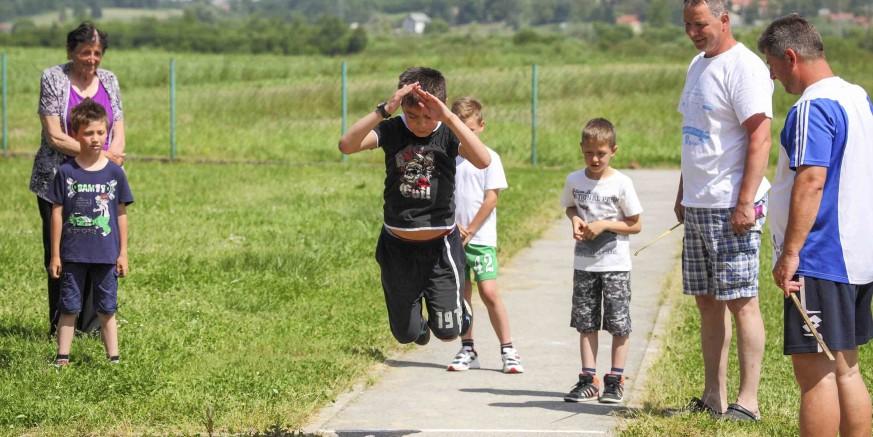 3. dječje seoske igre Salinovec 2017. u subotu, 3. lipnja