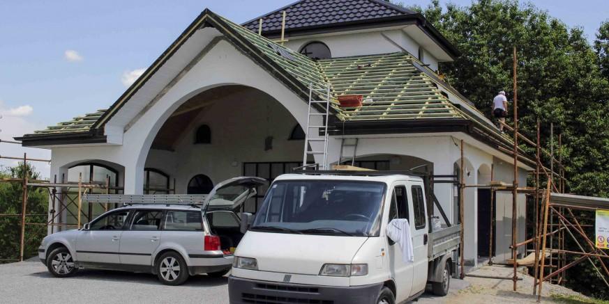 Adaptacija grobne kuće u Kamenici - Grad Ivanec sufinancira  40%  troškova