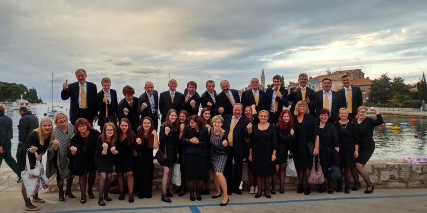 Koncert Mješovitog pjevačkog zbora KUD-a Rudolf Rajter u povodu 40. godišnjice rada