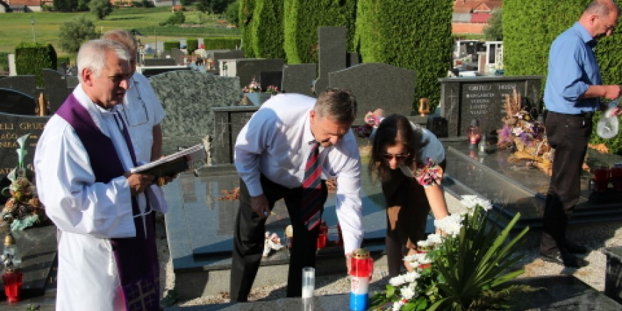 Obilježena godišnjica pogibije branitelja Željka Biškupa