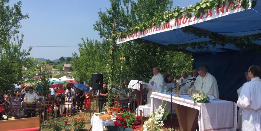 U Jerovcu obilježena 40. godišnjica izgradnje kapele sv. Ivana Krstitelja