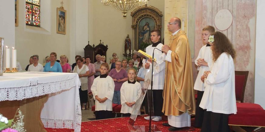 Vlč. Zoran Gložinić predvodio svečanu misu u povodu blagdana sv. Ivana Krstitelja