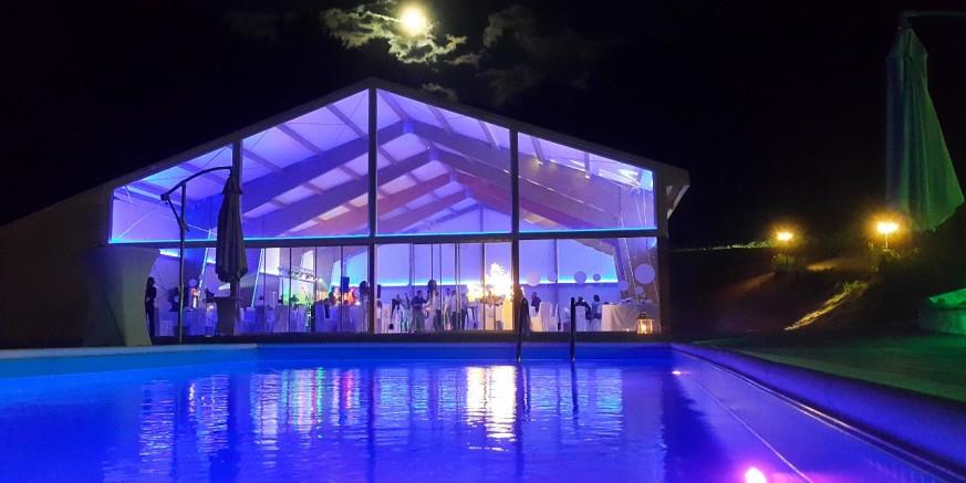 Otvorena Šumska vila, reprezentativna sala za vjenčanje u šumskom ambijentu