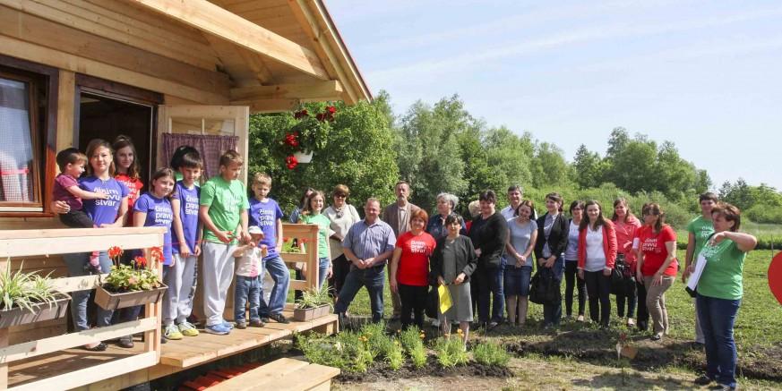 Otvaranjem eko kućice obilježena 10. obljetnica rada Udruge udomitelja Nada