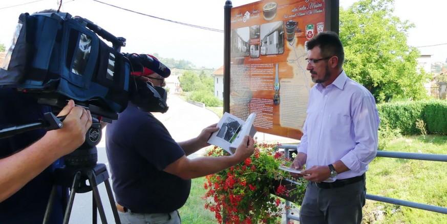 Promidžba: HTV snimao priloge za reportaže o ivanečkim mlinovima