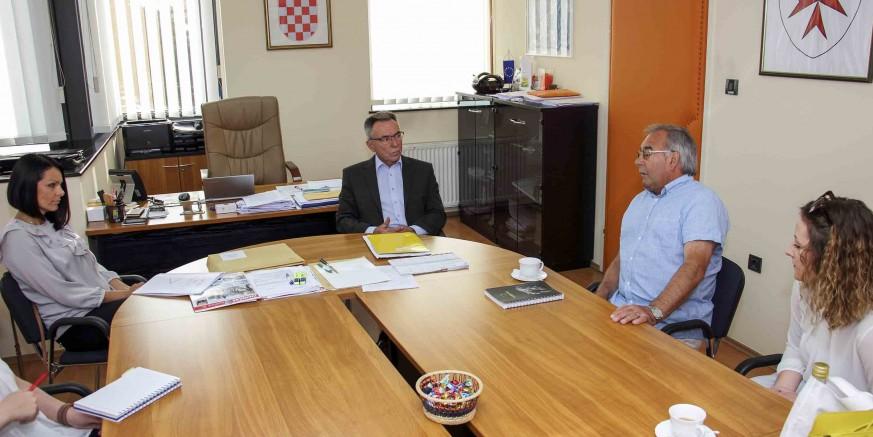 Gradonačelnik M. Batinić: Prijam za predsjednike županijske Zajednice KUU-a i KUD-a Salinovec