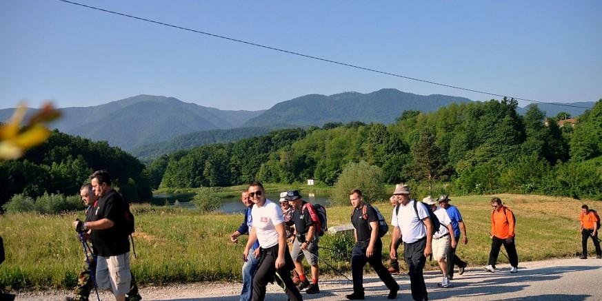 1. memorijalni planinarski pohod sjećanja na poginule branitelje grada Ivanca