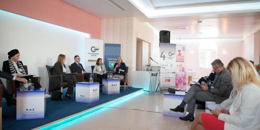 M. Batinić na 4. gospodarskom forumu u Žepču (BiH)