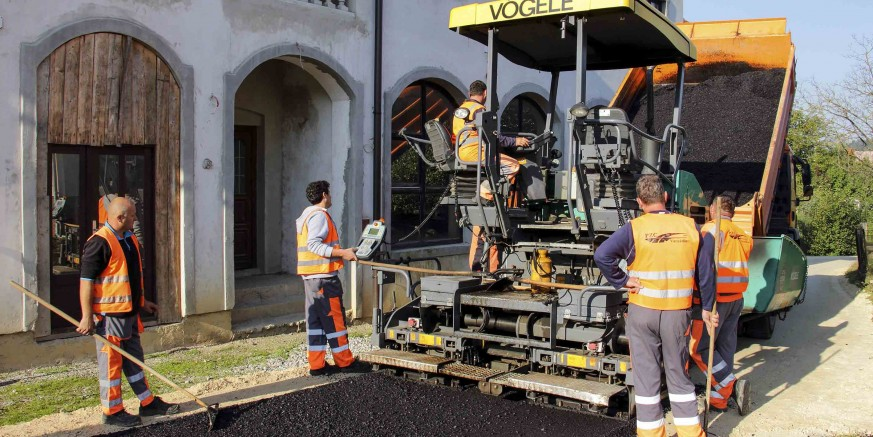 Gradske ceste: Položen asfalt na četiri cestovna odvojka