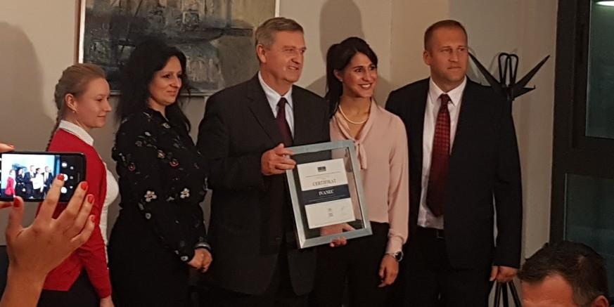 Na Ekonomskom fakultetu u Rijeci: Gradu Ivancu ponovno međunarodni certifikat BFC