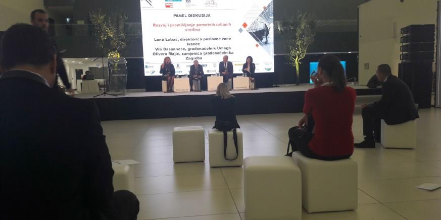 Grad Ivanec na konferenciji Pametni gradovi 2017. u Međunarodnoj zračnoj luci Zagreb